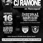 16/10/2015 - Golden Rock Bar - Rancagua, Chile