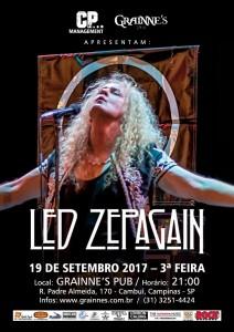 19/09/2017 Campinas/Brasil Grainne´s Irish Pub