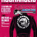 25/10/2015 - Circus Rock Bar - Belo Horizonte, Brasil