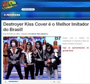 DESTROYER - FAUSTÃO MELHOR COVER DO BRASIL