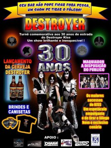 Show Destroyer Kiss - Bar